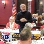 Congressman Tom Marino addresses the crowd.